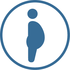 Blue Icon Pregnant lady